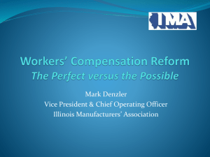 Changes in Workers Compensation: What It Means to Illinois