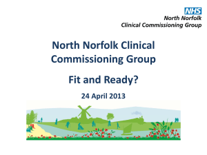 North Norfolk Clinical Commissioning Group
