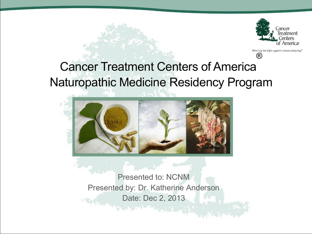 Cancer Treatment Centers Of America Input Presentation Title