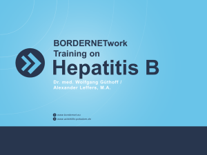 Education material on hepatitis B