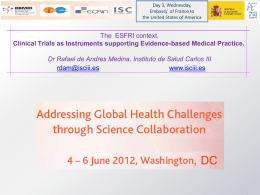 Clinical Trials as Instruments supporting Evidence