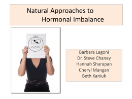 Hormonal Imbalance 2014 - Better Future Starts Today Login