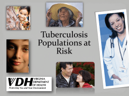 Latent TB Infection - National Center for Health in Public Housing