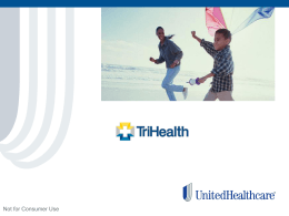 United Health Care - Healthcare Financial Management Association