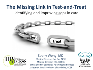 C2 The Missing Link in Test and Treat