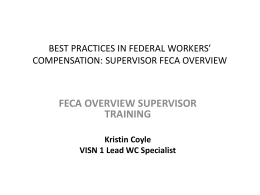 Train the Trainer - Federal Employees