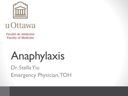 3. Anaphylaxis 2013