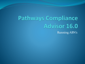 Pathways Compliance Advisor 16.0