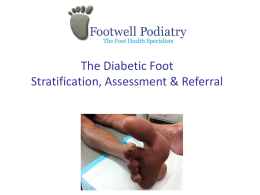 2014 Diabetic Foot for Nurses Training 2