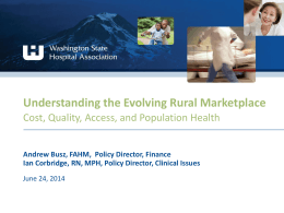 Understanding the Evolving Rural Marketplace