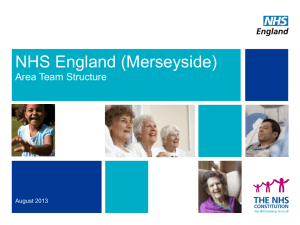 Merseyside structure chart