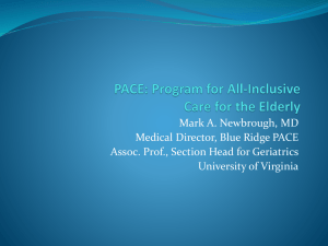 PACE - Albemarle County Medical Society