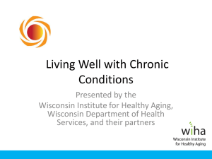Living Well PowerPoint Presentation - Wisconsin Institute for Healthy