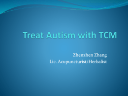 Treat Autism with TCM - Gold Living Acupuncture in Waltham