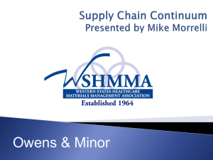 Supply Chain Continuum