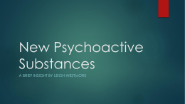 New Psychoactive Substances – DAWG JUNE 2014