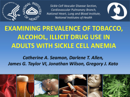 examining prevalence of tobacco, alcohol, and illicit drug use