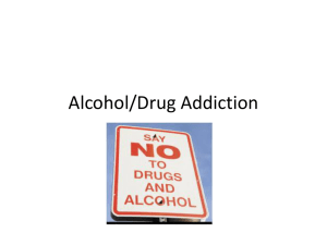 drugs and alcohol power point