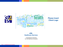 e4e Healthcare Services