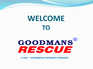 Now - goodmans rescue