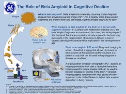 Fact Sheet: Beta Amyloid PPTX 811KB