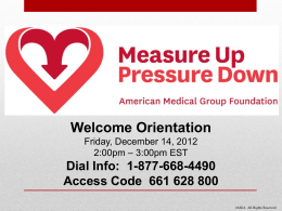 Here - Measure Up/Pressure Down
