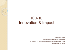 ICD-10 - Care Share Health Alliance
