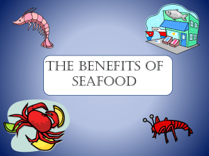 The Benefits of Seafood - Pennington Biomedical Research Center