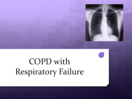COPD with Respiratory Failure