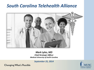 Lyles SC Telehealth Alliance