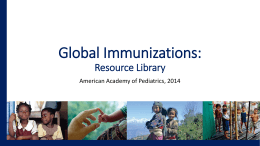 Global Immunization Resource Library