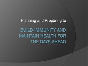 Planning and Preparing - HamiltonCountyPreppers