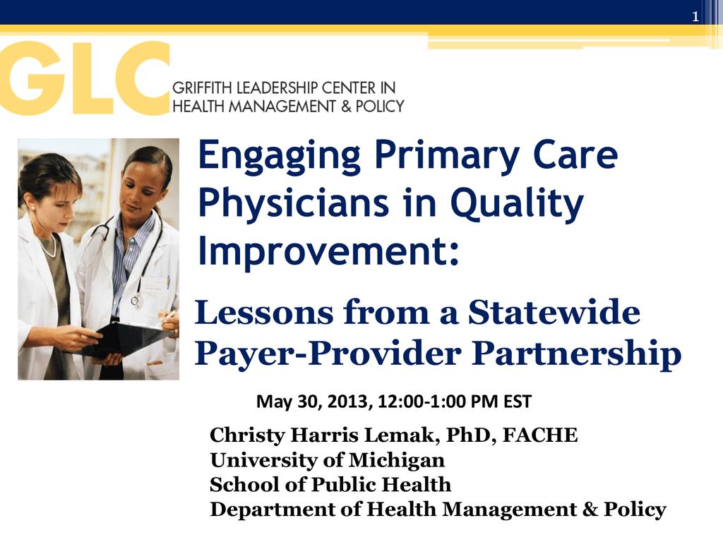 PGIP - University of Michigan School of Public Health