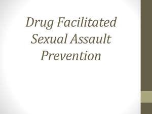 Sexual Assault Prevention & Drug and Alcohol Awareness
