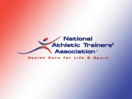 The Female Athlete Triad - National Athletic Trainers