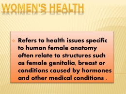 Women`s Health Awareness