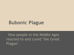 Bubonic Plague