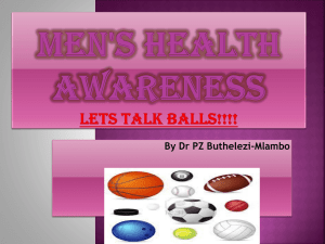 Men`s Health Awareness