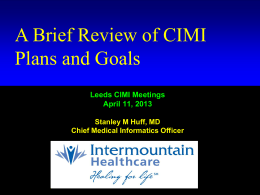 Slides - Mayo Clinic Informatics