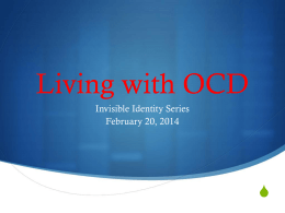 Students Living with OCD