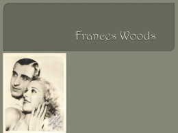 Frances Woods Family