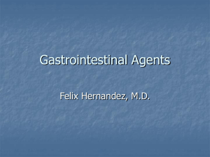 Gastrointestinal Agents