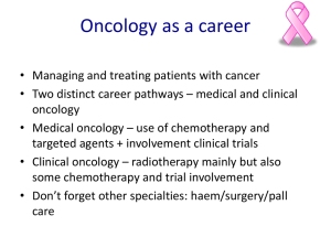 Acute Oncology - Sheffield Teaching Hospitals NHS Foundation