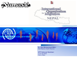 National TB Seminar Pokhara (14-Jul