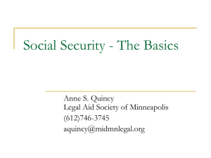 Disability Determinations for Social Security, SSI and MA