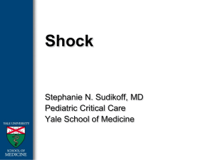 Shock - Yale medStation