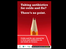 Powerpoint Slides on Antibiotics for Surgeries and Pharmacies