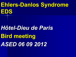 Size: 1 Mo.) The Ehlers-Danlos Syndrome (EDS). Bird meeting
