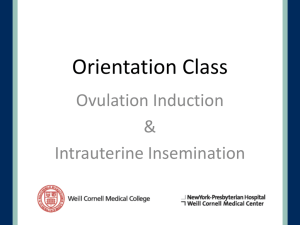 Ovulation Induction with Gonadotropins