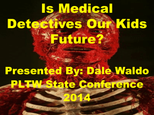 Is Medical Detectives Our Kids Future?